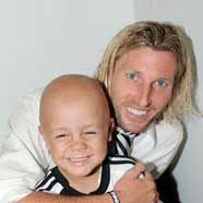 Lewis and Robbie Savage