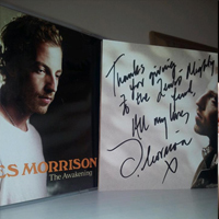 James Morrison signed album