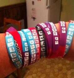 Wristbands sales raise more funds